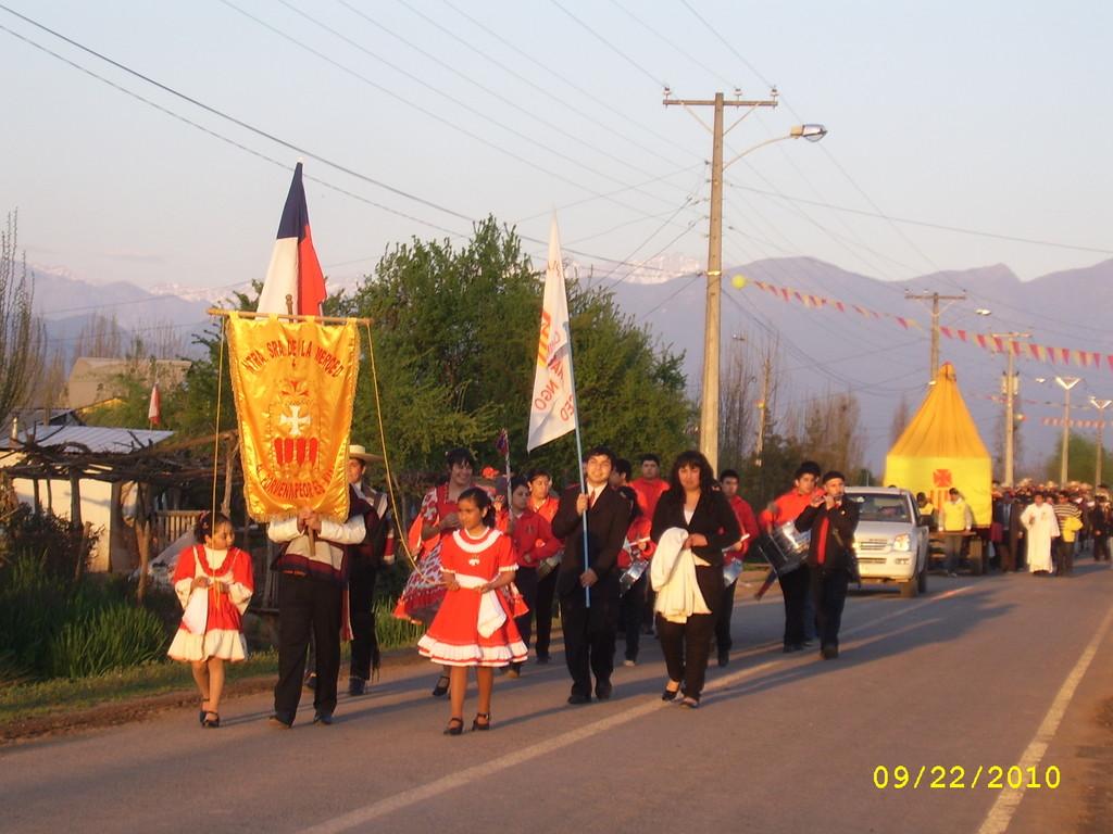 Proseción en Honor a la Virgen de La  Merced  - Septiembre  2010