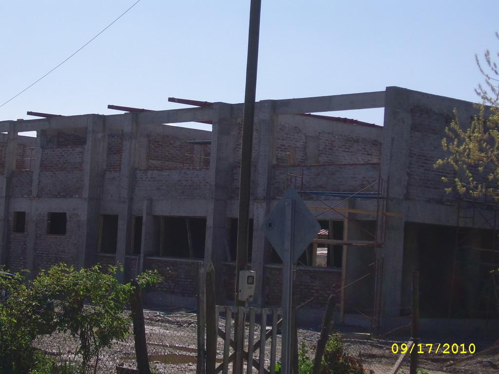 Nueva Construcción Escuela F-449
