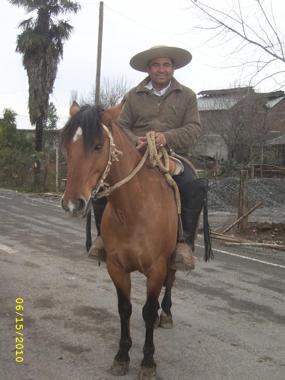 Patricio Galaz Jara, persona del sector