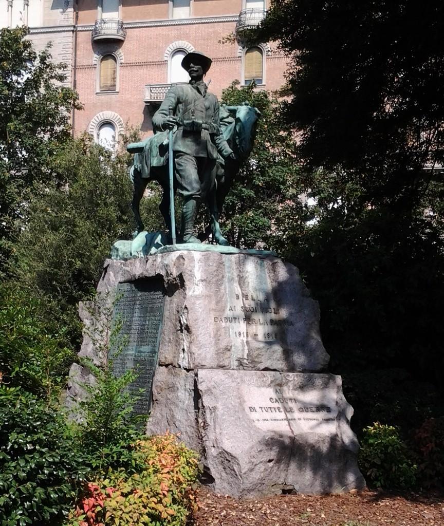 Il gruppo statuario ha mantenuto nel tempo il suo austero fascino