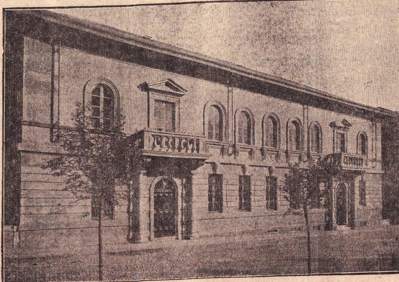 Nuova sede del Museo e della Biblioteca Civica, 1932 (Il Popolo Biellese)