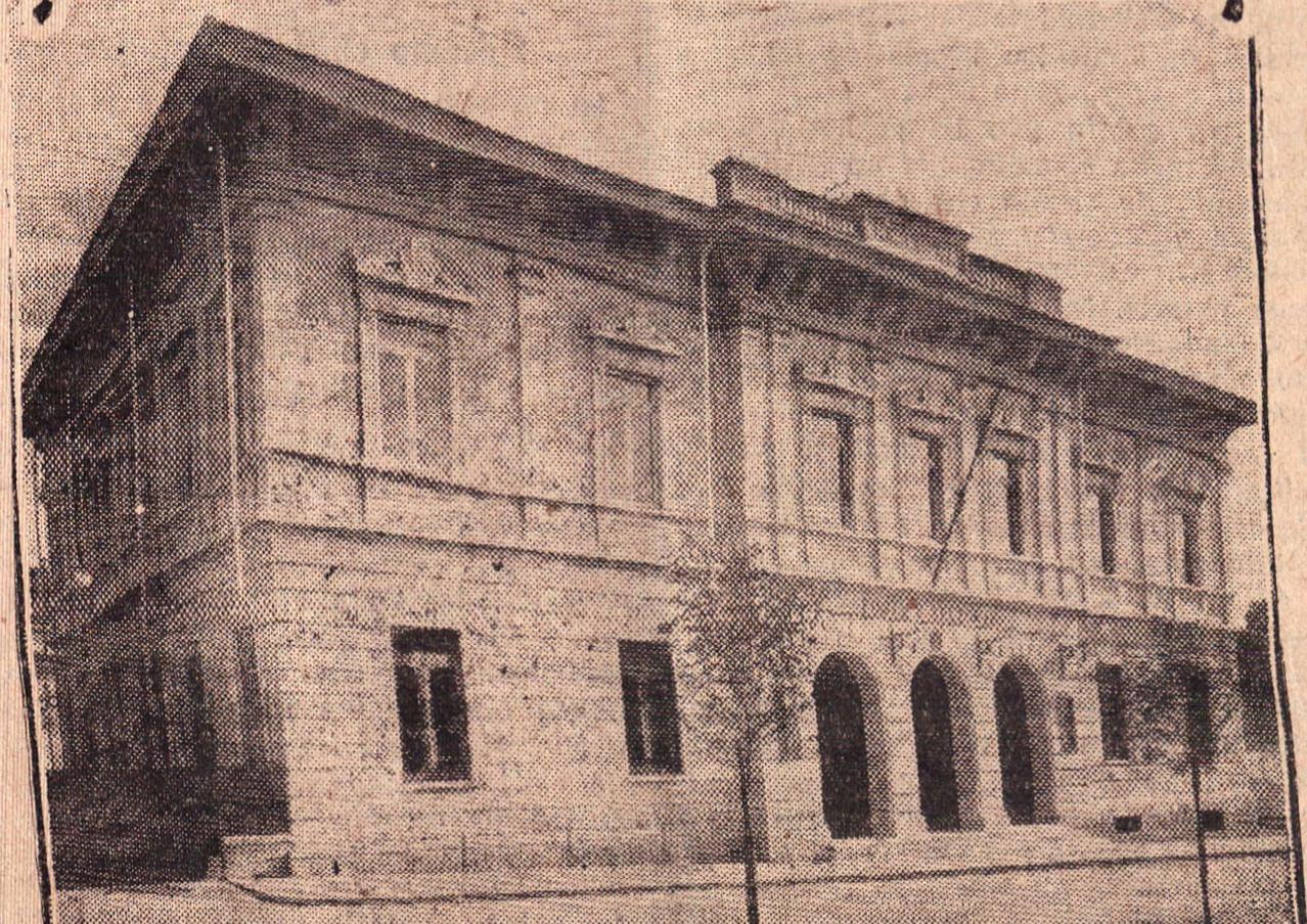 Ufficio delle Poste, anno 1932 (Il Popolo Biellese)