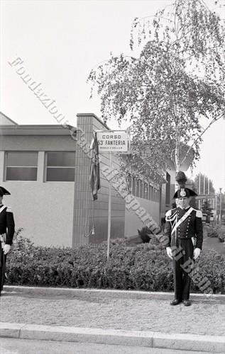 Il tributo di Biella al 53° Rgt Fanteria, 1959 (Fondazione Cassa di Risparmio di Biella, archivio Lino Cremon)