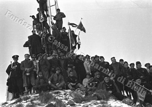 Foto di gruppo dei partecipanti (Fondazione Cassa di Risparmio di Biella, archivio Cesare Valerio)