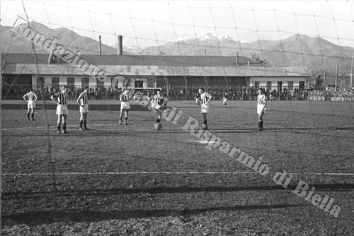 Il calcio al tempo della crisi: la stagione 1933/1934 dell'A.S. Biellese (Fondazione Cassa di Risparmio di Biella, archivio Cesare Valerio)