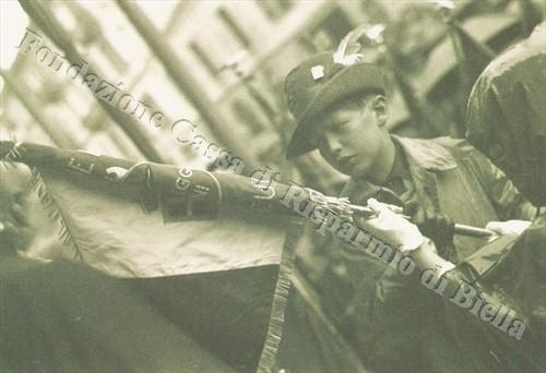 Il raduno alpino del 12 giugno 1938 (Fondazione Cassa di Risparmio di Biella, archivio Cesare Valerio)