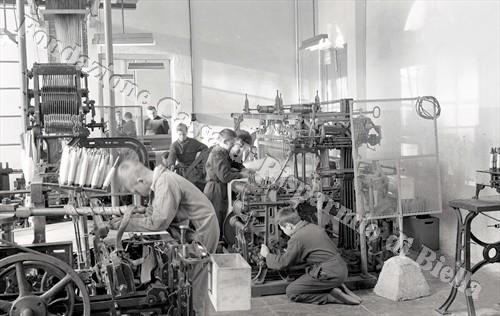Allievi impegnati in attività pratiche (Fondazione Cassa di Risparmio di Biella, archivio Lino Cremon)