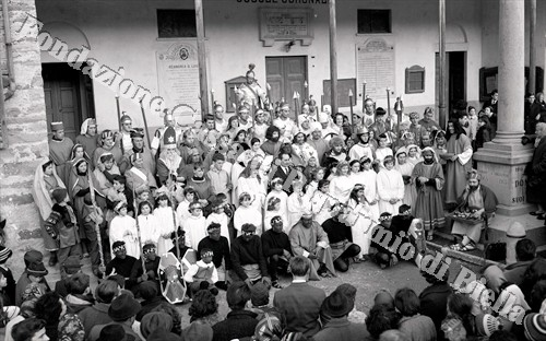 Il Presepe vivente di Donato (Fondazione Cassa di Risparmio di Biella, archivio Lino Cremon)