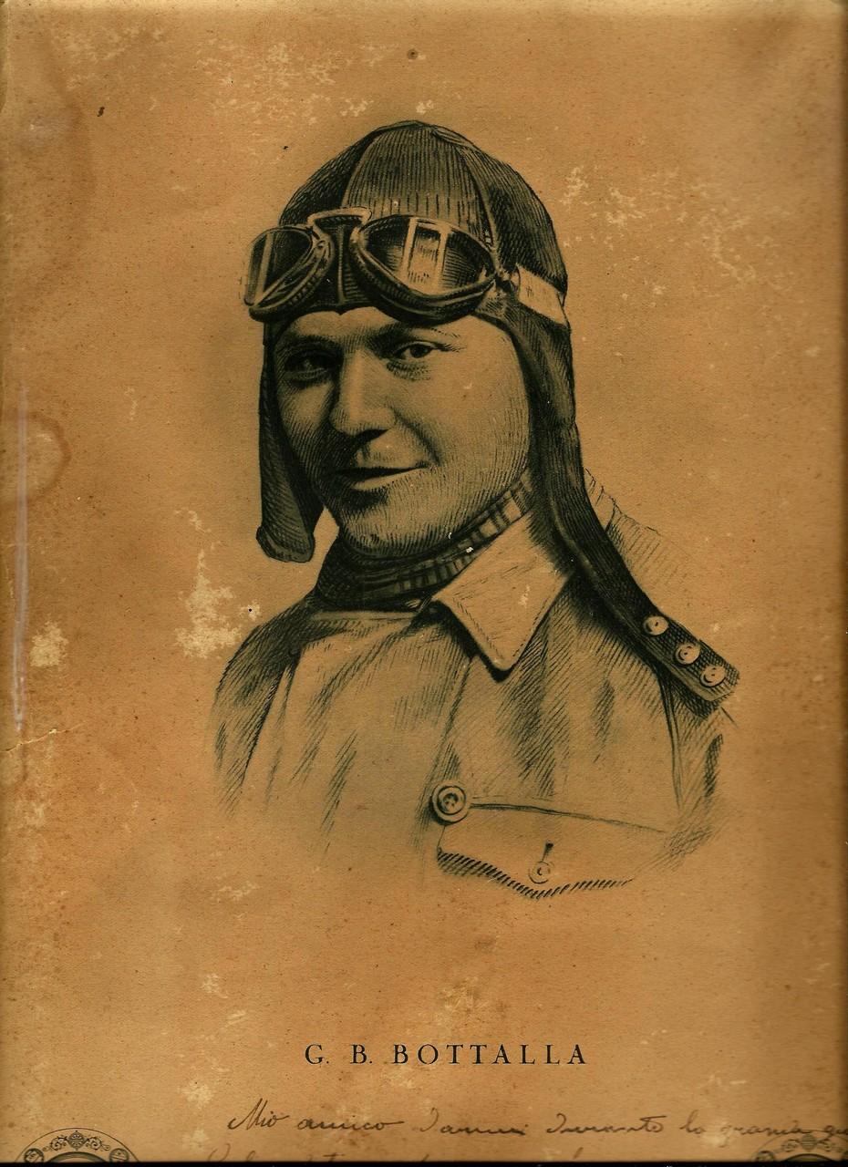 Cartolina ricordo raffigurante Giovanni Battista Botalla, gentile omaggio del sig. Francesco Ferrari di San Donà di Piave