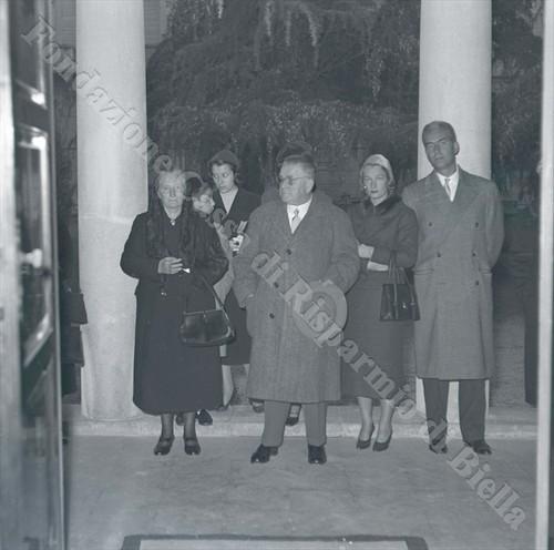 Il conte Ettore Barberis con la famiglia (Fondazione Cassa di Risparmio di Biella, archivio Lino Cremon)