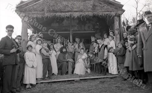 La Sacra Famiglia riunita nella capanna (Fondazione Cassa di Risparmio di Biella, archivio Lino Cremon)