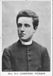 Don Lorenzo Perosi all'inaugurazione della croce sul Mucrone, 1898