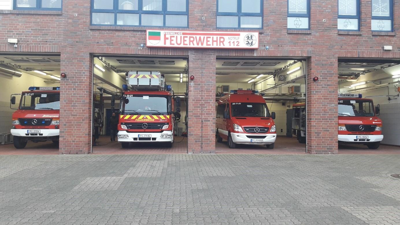 Spezialausstattung: Eine der Feuerwachen auf Helgoland.