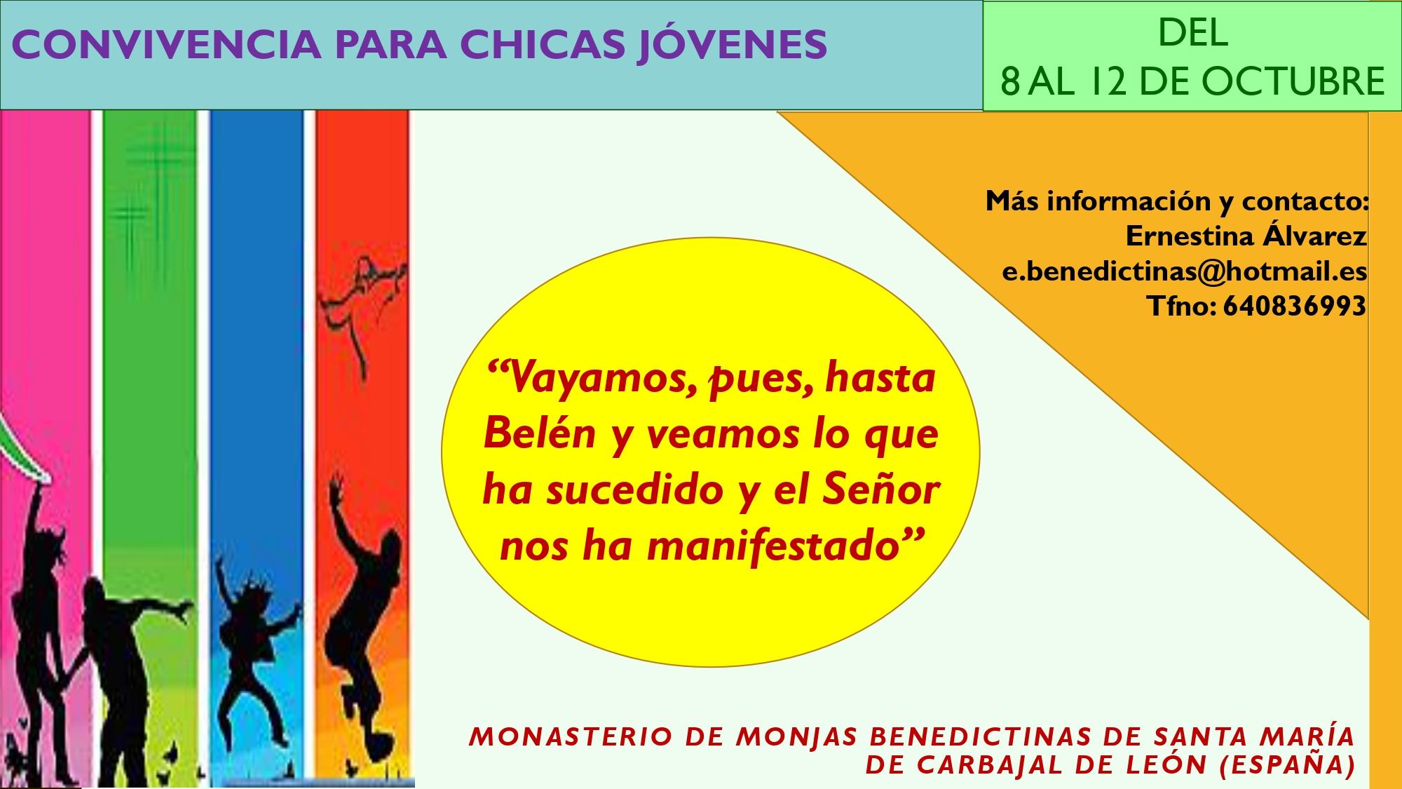 CONVIVENCIA PARA CHICAS JÓVENES