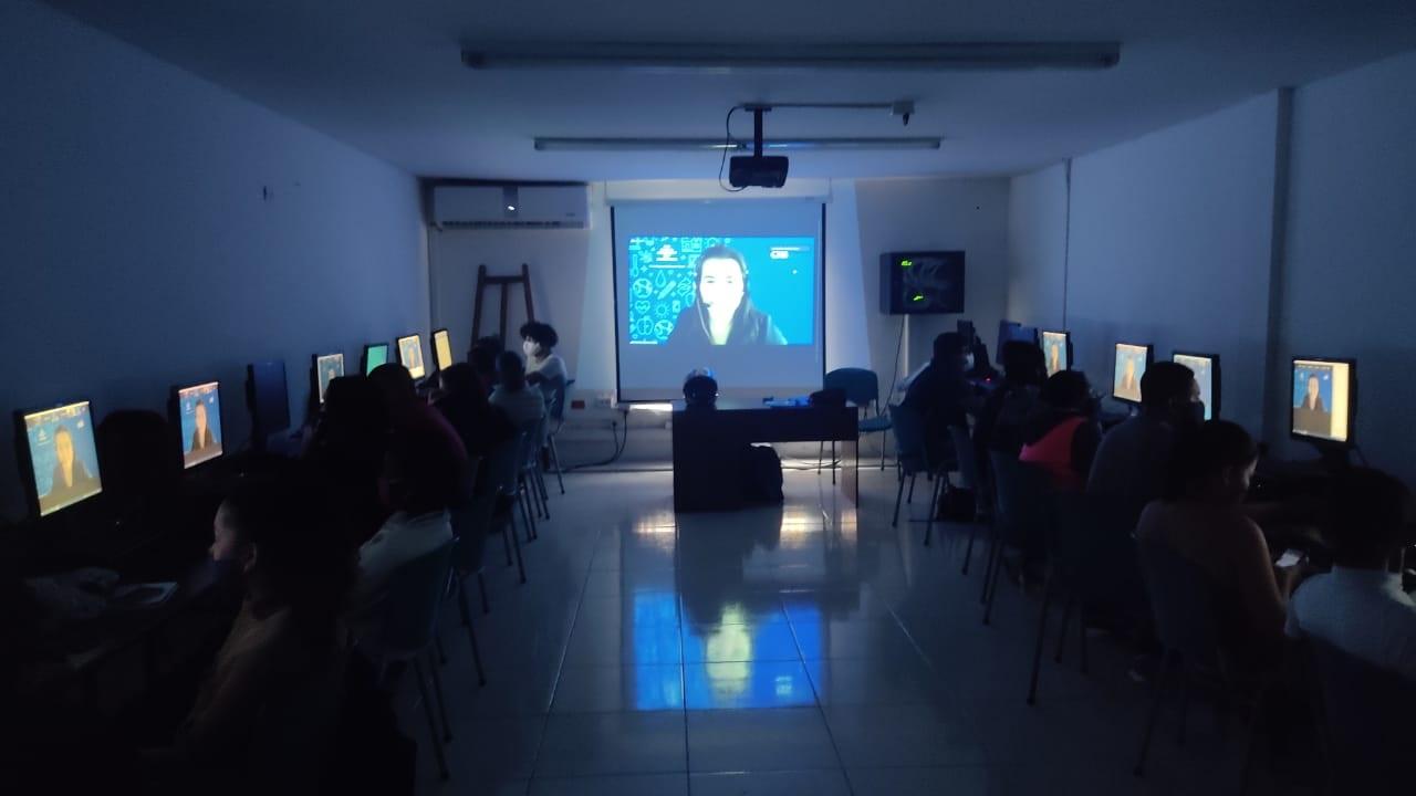 Primera capacitación a los participantes venezolanos del proyecto TIC, sobre el estatuto Temporal de protección para Migrantes Venezolanos.