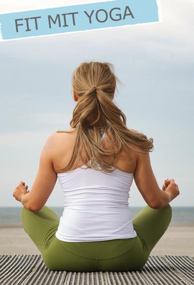 Yoga, Lotussitz, Frau