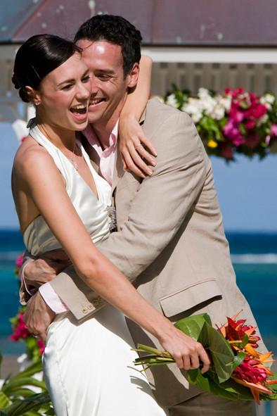 Ehepaar, Hochzeit, Liebe, verliebt