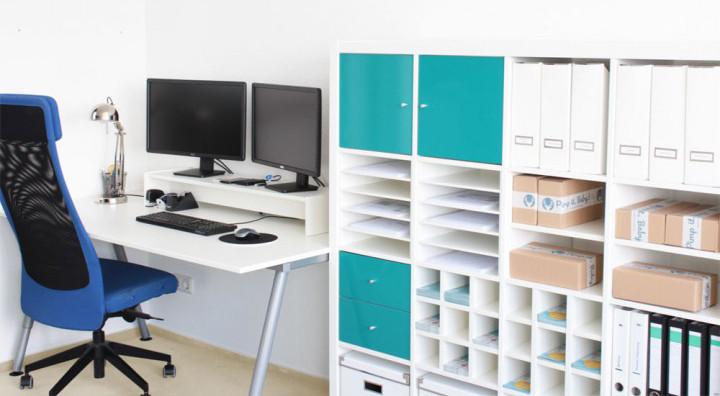 endlich ordnung schaffen im home office - blog sina's welt, Kuchen deko