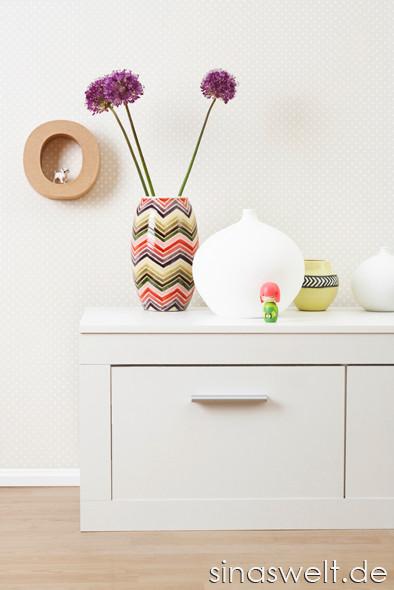 Kommode, Lowboard, Vase