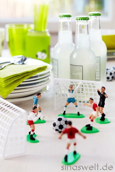 Fußball, WM, EM, Dekoideen, Tischdeko, Fußballabend, Feier, Party, Fußballparty, Tipps, Ideen
