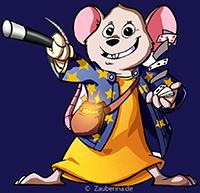 BRUCE. Die Zauberina-Zaubermaus Zauberworkshop