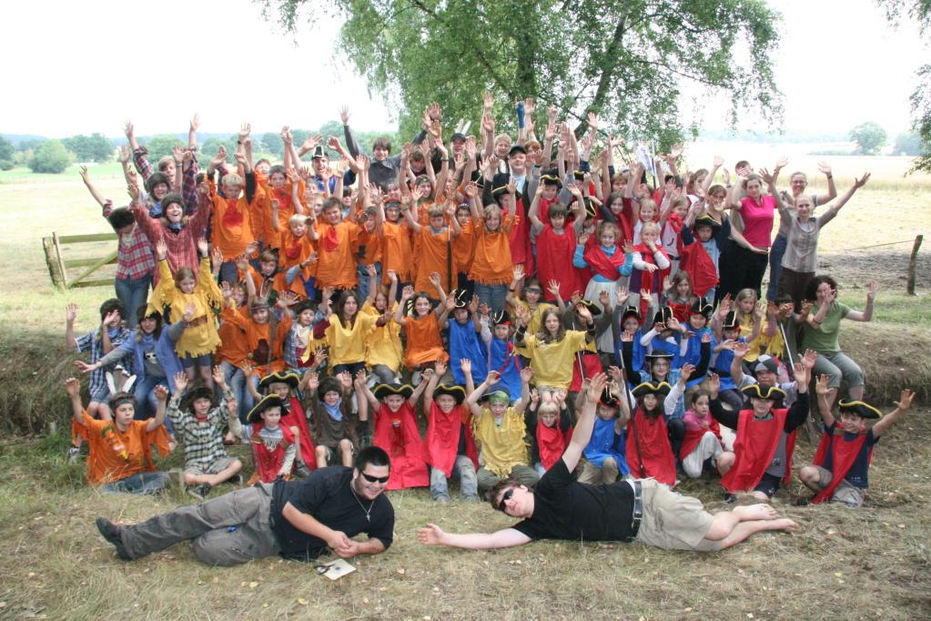 Teamer und Kinder 2009