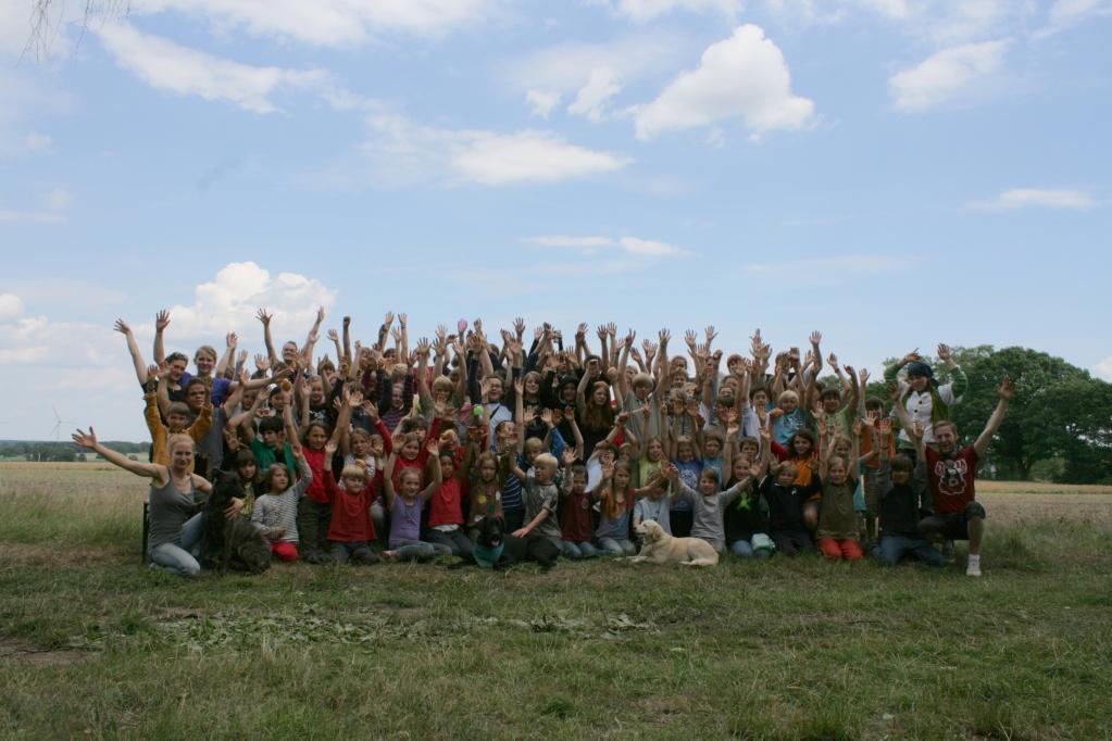 Teamer und Kinder 2011