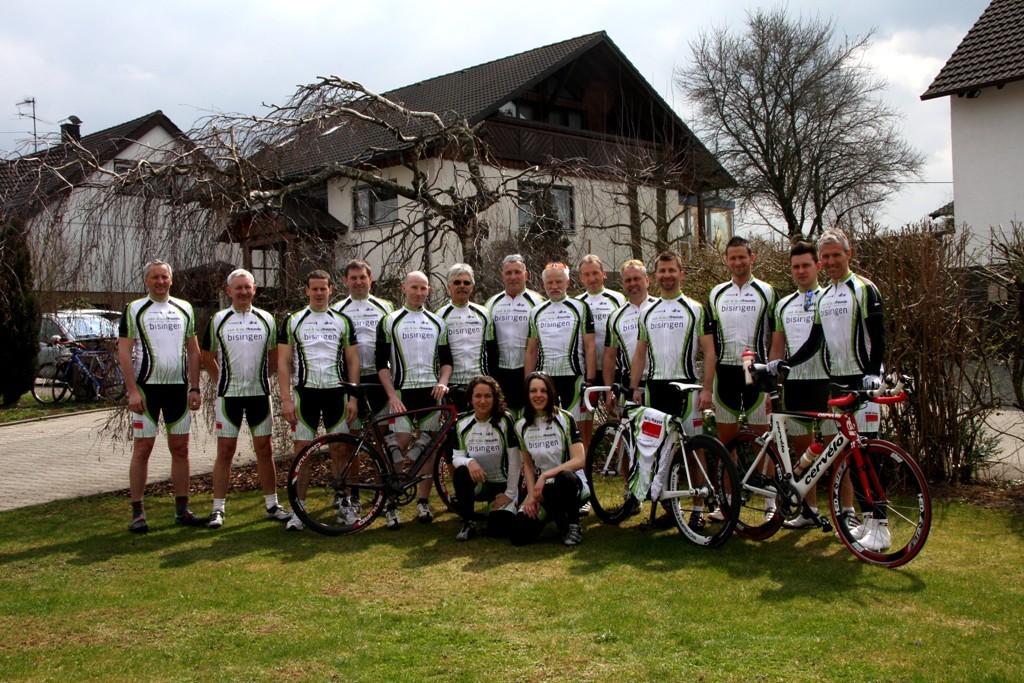 Rad- und Lauffreunde starten mit gesponsertem Design in die neue Saison 2010
