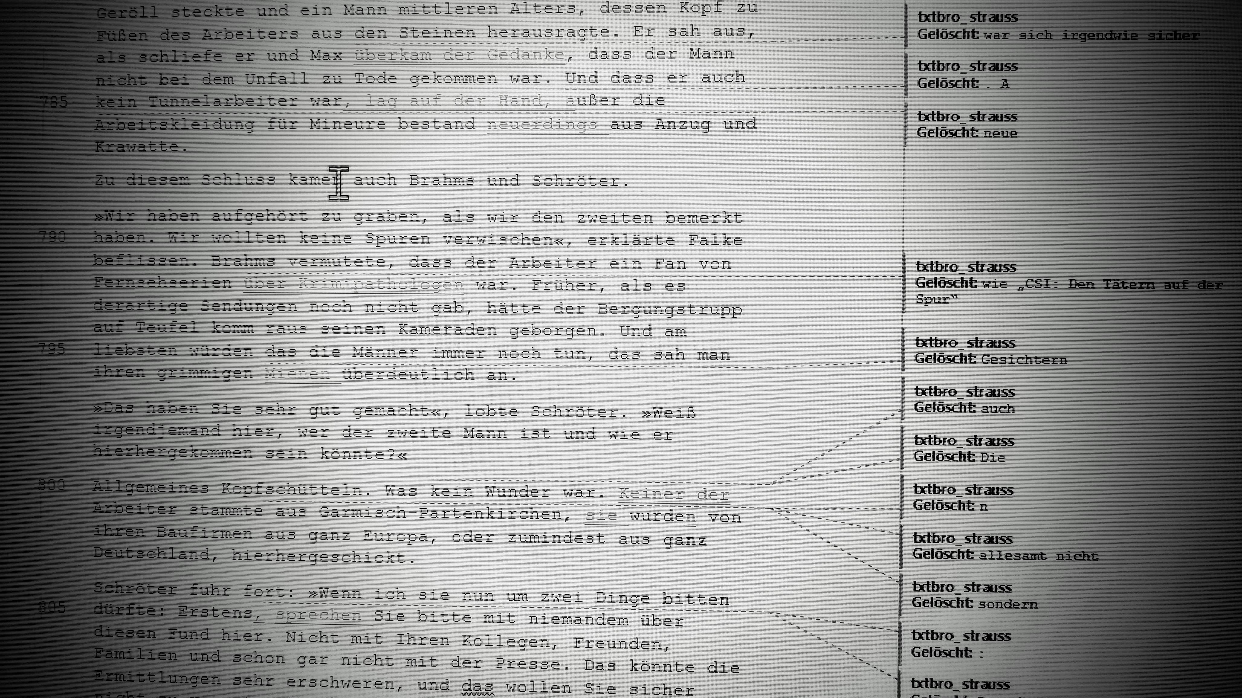 Rechtschreibprüfung auf Papier - besser als am Monitor
