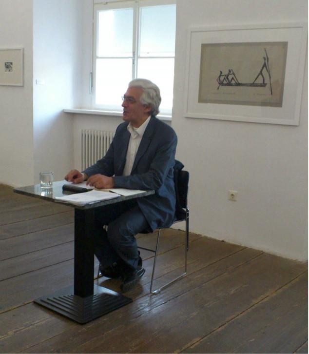 Lesung am 28.5.2013 im Museum moderne Kunst, Passau