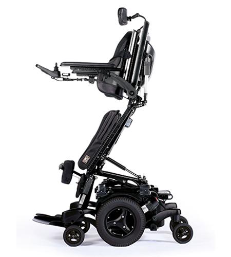 Rollstuhl hebt Menschen mit Behinderungen