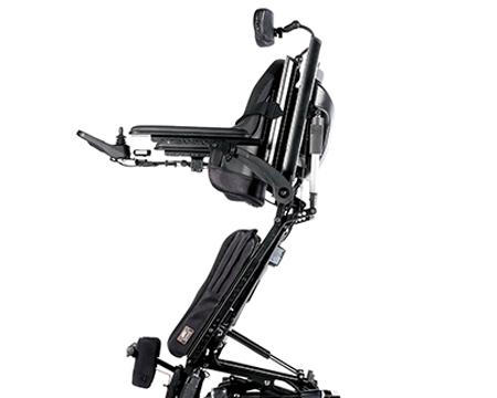 Rollstuhl mit starken Akkus