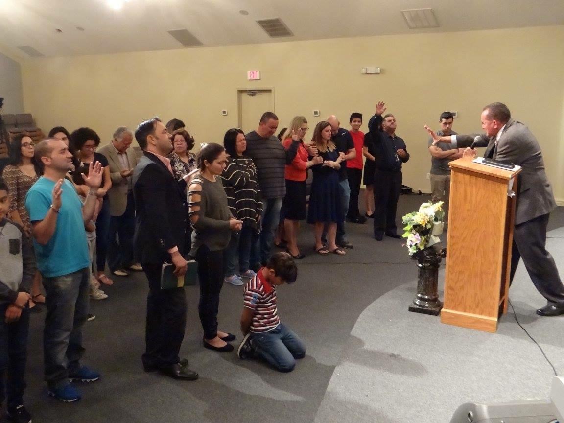 Culto na Igreja em Fort Myers - Pr. Manoel Olivio