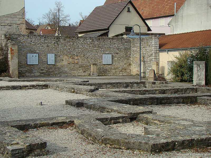 Ruine des Kastellbades