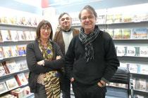 Chez mon éditeur OREP à Bayeux avec Jean-François Miniac