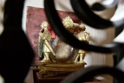 Le coeur de Charles II repose dans l'église d'Ujué.