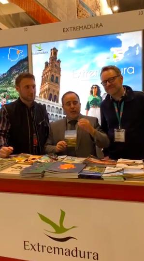 Extremadura, Unbekanntes Spanien, ITB 2019, Christoph Schlemmer, Berlin, Iván Cerezo