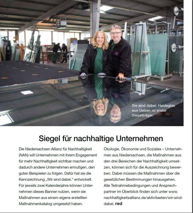 Glaserei und Glasgroßhandel Heideglas Uelzen in der Lüneburger Heide