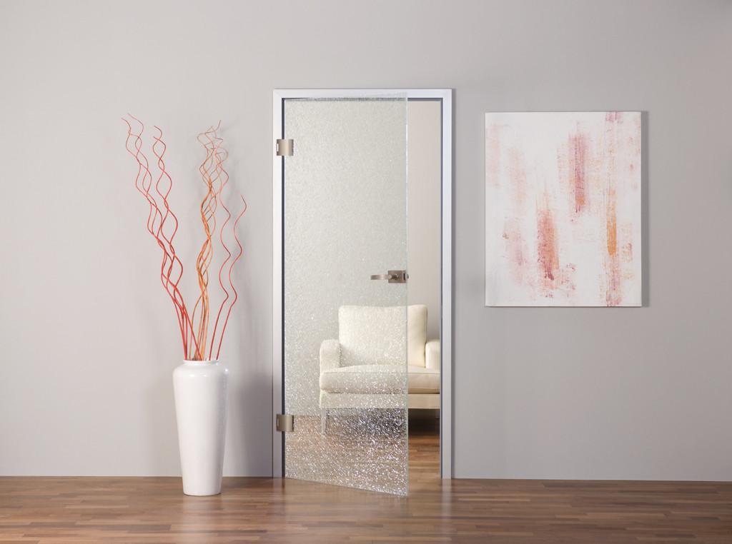 Glastüren dienen als Raumteiler, aber auch als individuelles Gestaltungselement. © Dorma