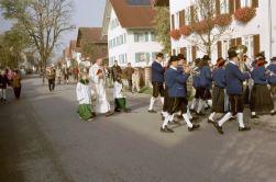 Musikkapelle Aitrang Einweihung des Proberaums 1985