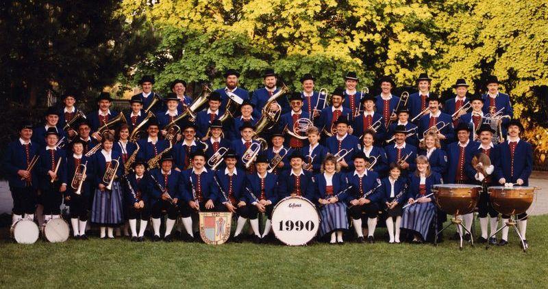 Musikkapelle Aitrang 1990
