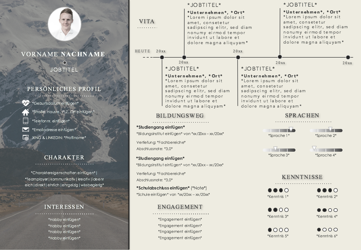Wunderbar Beliebte Lebenslaufvorlagen Galerie - Entry Level Resume ...