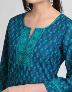 Kurta bordado (blusa)