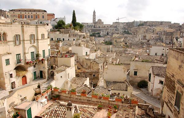 Die Stadt Matera