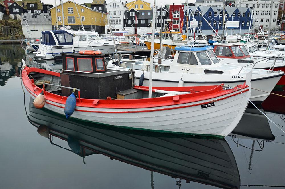 im Hafen von Tórshavn