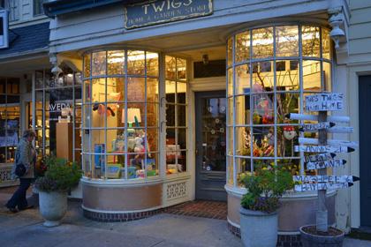 Twigs - toller Souvenir-Laden im Herzen von Falmouth.