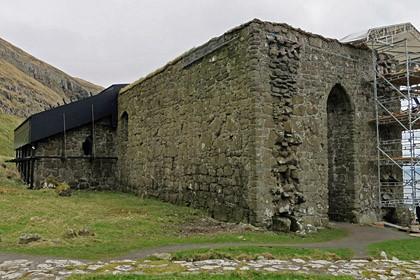 Die Ruine der Magnuskathedrale.