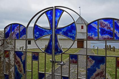 Eingang zur Olavskirche.