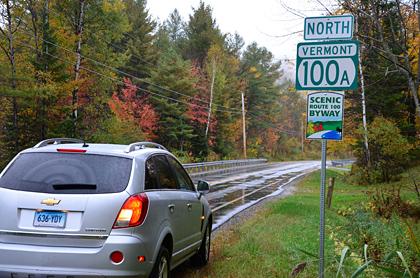... unterwegs auf der Scenic Route 100