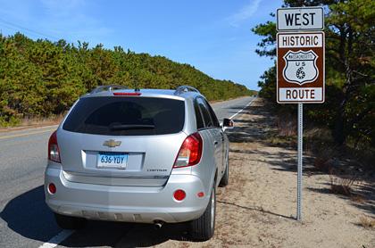 ... auf der Historic Route 6 fahren wir Richtung Süden.